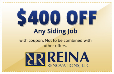$400 OFF Any Siding Job