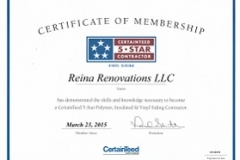 Reina Renovations, LLC